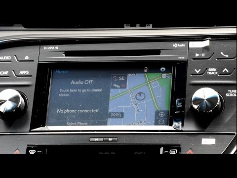 Toyota Entune Premium Navigation Instructional Setup Guide and Walk Through