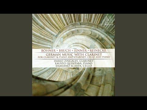 8 Pieces For Clarinet, Viola And Piano, Op. 83: No. 6, Nachtgesang: Andante Con Moto