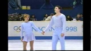 Berezhnaya & Sikharulidze (RUS) - 1998 Nagano Winter Games, Figure Skating, Pairs