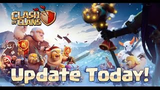 Clash of Clans Christmas Update 2014 Gameplay of New Features: Level 12 collectors
