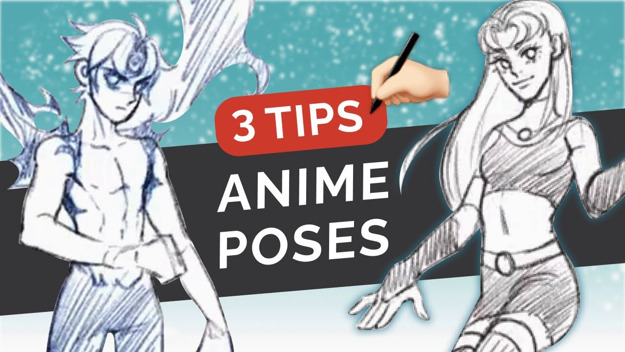 ✍🏼 3 Tips for DRAWING POSES Out of Your Head! ⭐ ANIME Style Figure Drawing [Clip Studio Paint]