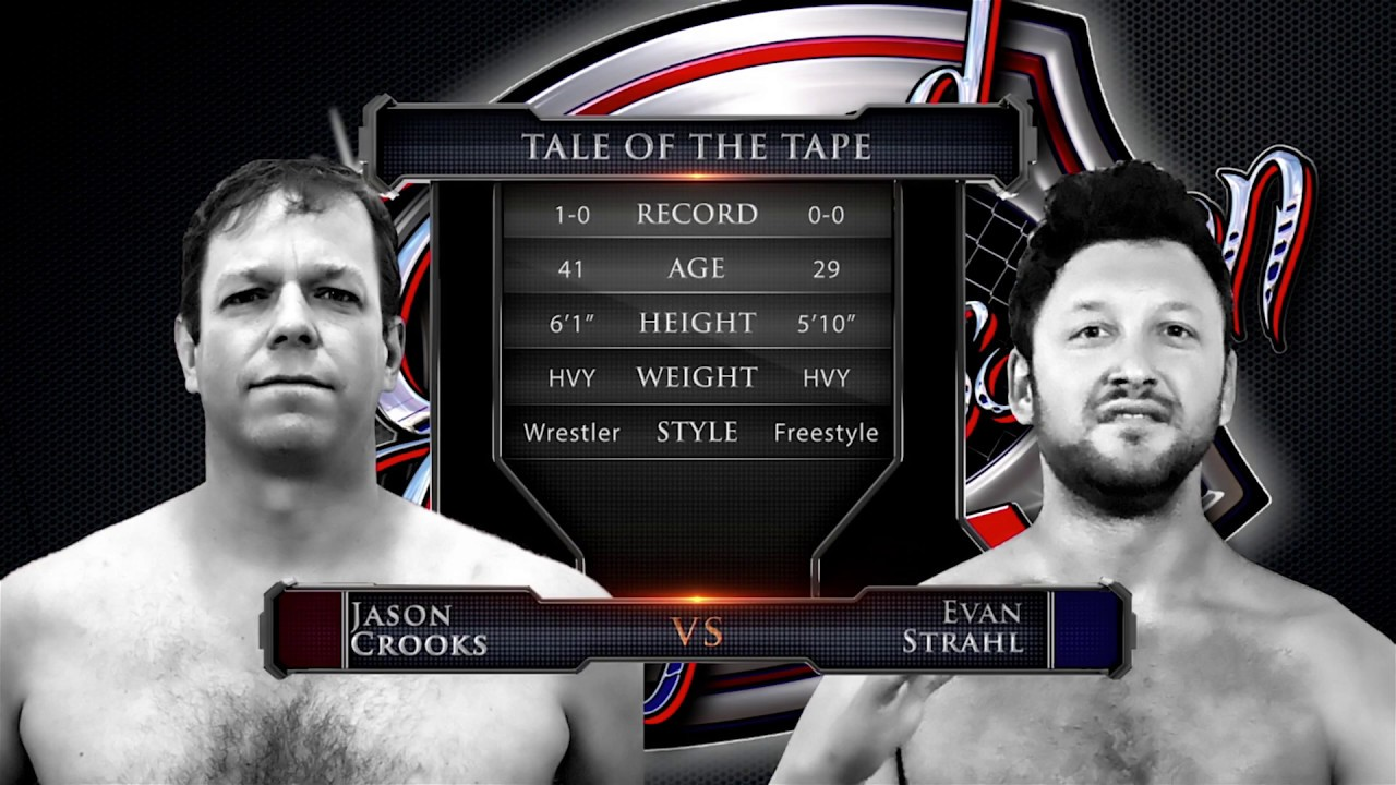 """Caged Aggression Challengers 7 """"Road to the Big Show"""" Fight 1. Jason Crooks vs Evan Strahl"""