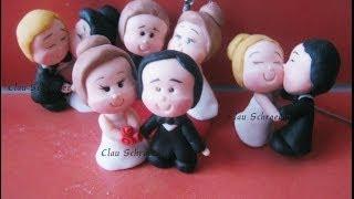 Lembrancinhas para casamento - Biscuit / Porcelana Fria by Clau Schroeder