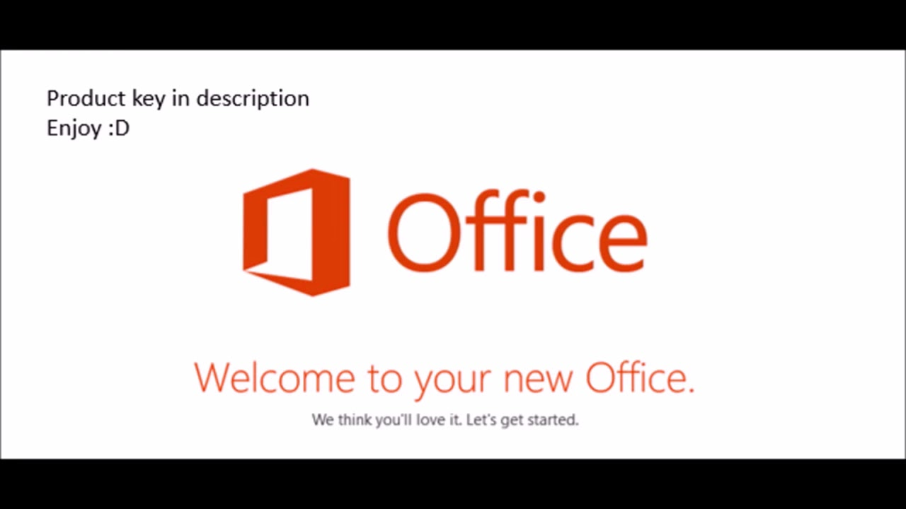 How to Activate Microsoft Office 365 All Versions. Free Product Key ...