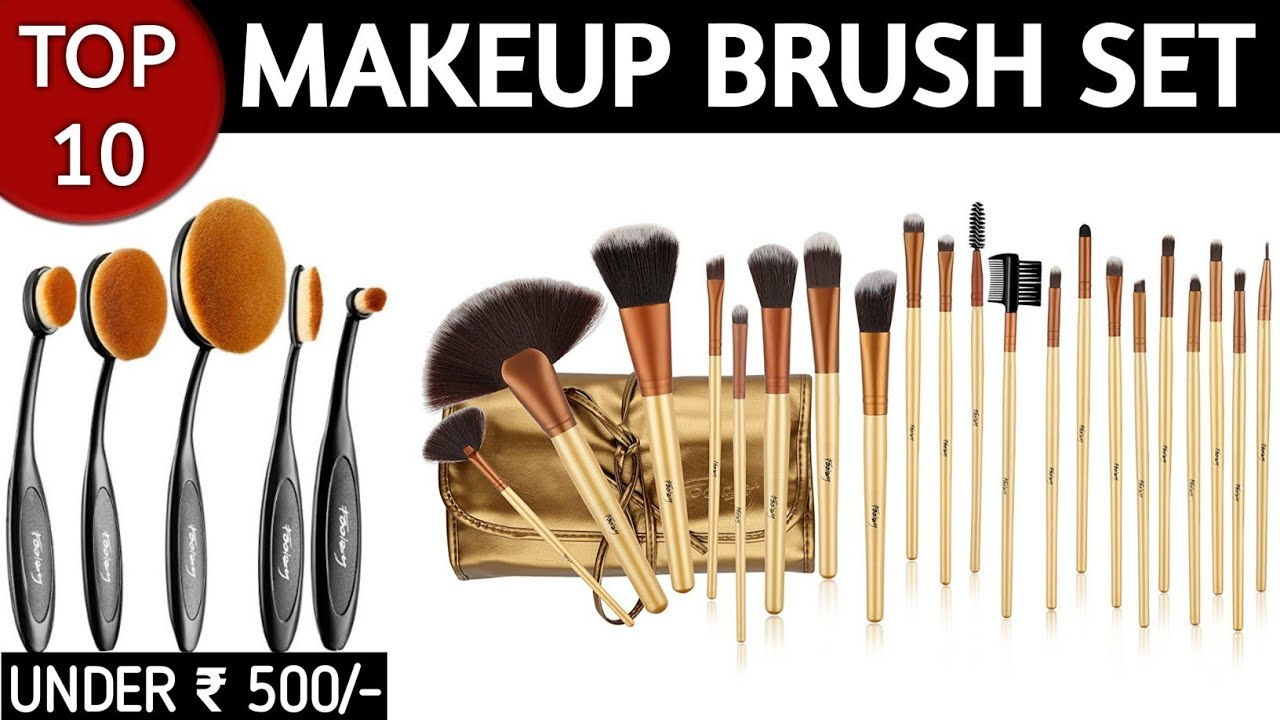 c3d6385a868b Cheap Makeup Brush Sets Brands In India With Price