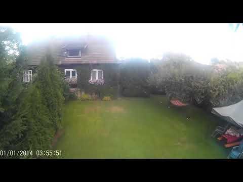 Lot dronem, film nakręcony sjcam 4000