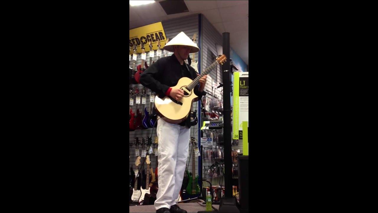 Ewan Dobson - Where Are You @ Guitar Center, Detroit MI 6/15/13
