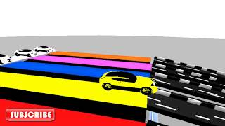Colors For Children Learn Color Cars Water-S Learn Color Cars 5 Learn Colour Cars Educational Video