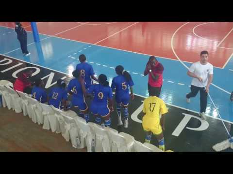 ndejje elities vs bajia of algeria,women africa club championship 2016
