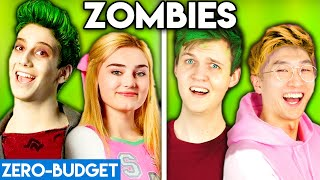 ZOMBIES WITH ZERO BUDGET! ('Someday' DISNEY ZOMBIES PARODY)