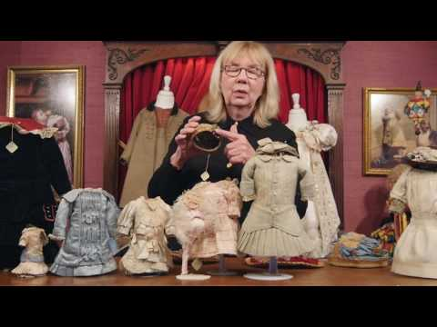 """""""What Finespun Threads"""" Antique Doll Costumes and Accessories Part 2"""