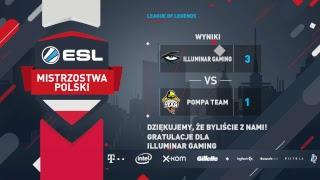 Wielki finał | ILLUMINAR GAMING vs POMPA TEAM | Finały 17. Sezonu ESL Mistrzostw Polski