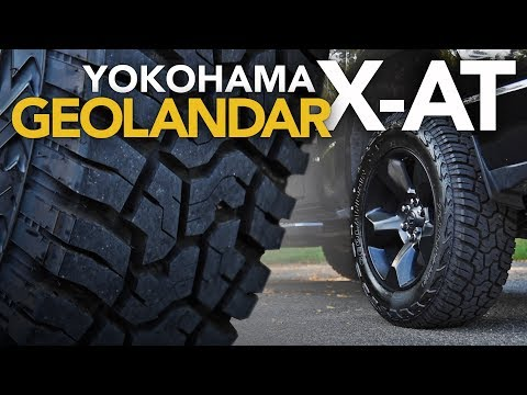 Yokohama Geolandar X-AT Review