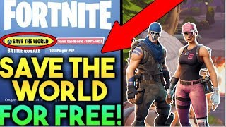 How To Get SAVE THE WORLD + FOUNDER'S SKINS PACK *FREE* IN FORTNITE! *WORKING 2018* (XBOX, PC, PS4)