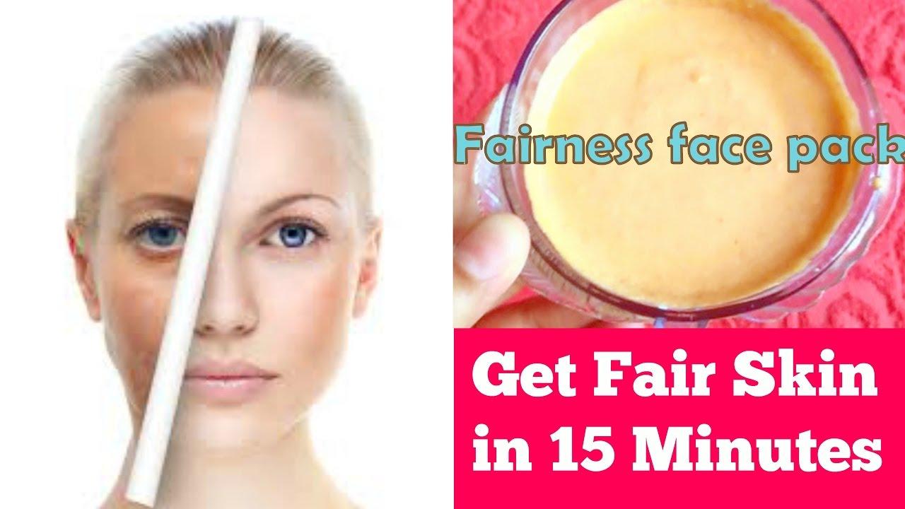 15 Minutes Skin Whitening |Get Fair, Spotless, Glowing Skin 100% Works