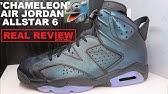 4f688cf1fcf40d Air Jordan 6 Chameleon Allstar AS Retro Sneaker REAL HONEST REVIEW +  Comparison with 1 s - Duration  10 36. THESNEAKERADDICT 15