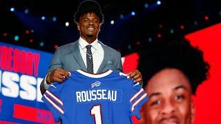 Debating the Bills' Greg Rousseau pick; Marquez Stevenson best pick of the draft for Buffalo?