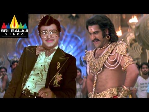 Yamadonga Movie Jr.NTR and NTR Scene | Jr NTR, Priyamani, Mohan Babu | Sri Balaji Video