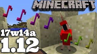 Minecraft 1.12 | 17w14a : PAPUGI TAŃCZĄ !!!