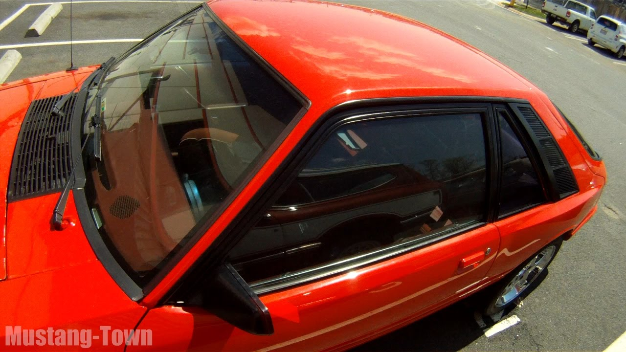 1986 Mercury 5.0 Capri - the other Foxbody (5.0 Mustang ...