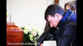 I funerali di Alvaro Turchetti - Il ricordo dei figli