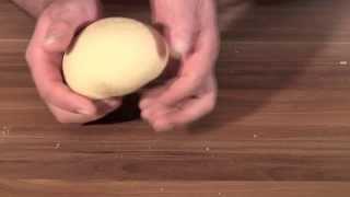 Homemade Fresh Pasta Dough-noodle Dough-handmade-quick And Easy Recipe-how To Make