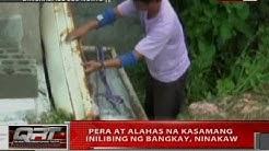 QRT: Pera at alahas na kasamang inilibing ng bangkay, ninakaw