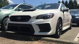 2018 Subaru STI Limited first look!!