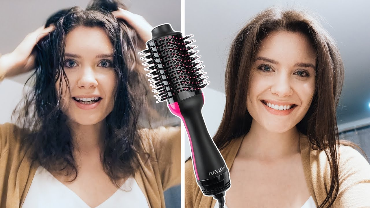 Resultado de imagem para revlon one step hair dryer before and after