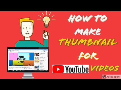 How to make thumbnail for Youtube Videos 2020 I How to Create thumbnail for youtube videos 2020