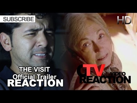 The Visit Official Trailer HD REACTION!!!
