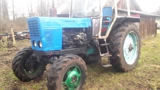 Установка кабины трактора ЮМЗ на МТЗ часть 5