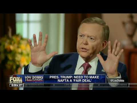 Lou Dobbs Interviews President Trump - October 27, 2017 - Archive
