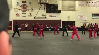 World Martial Arts Center Nunchuks Demo Team