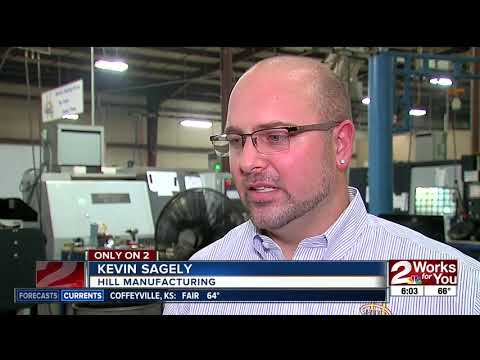 Employment decline in Oklahoma's manufacturing industry