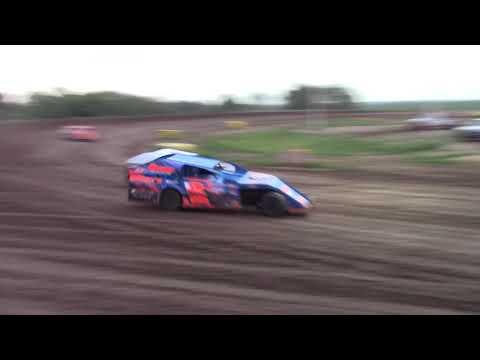 """Salina Speedway SalinaUsedCars.com IMCA Modified """"Heat 1&2"""" 7-27-18"""