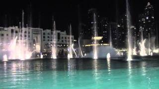 Dubai Fountains - Thriller by Michael Jackson