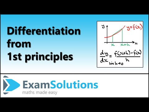 Differentiation : ExamSolutions