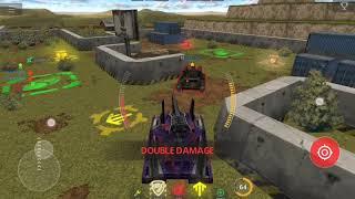 Глюк на мобильной версии игры Танков онлайн. Не проходит урон по врагам.