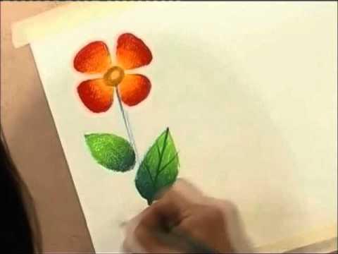 สอนสีไม้4-8(color pencil tutorial)ชุดที่1(episode1)