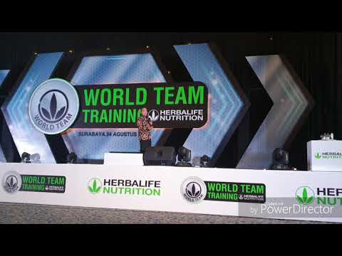 HADI KUNTORO : HERBALIFE NUTRITION CLUB BISNIS MASA DEPAN,  WTT GRAND CITY SURABAYA, 24 AGUST 2019