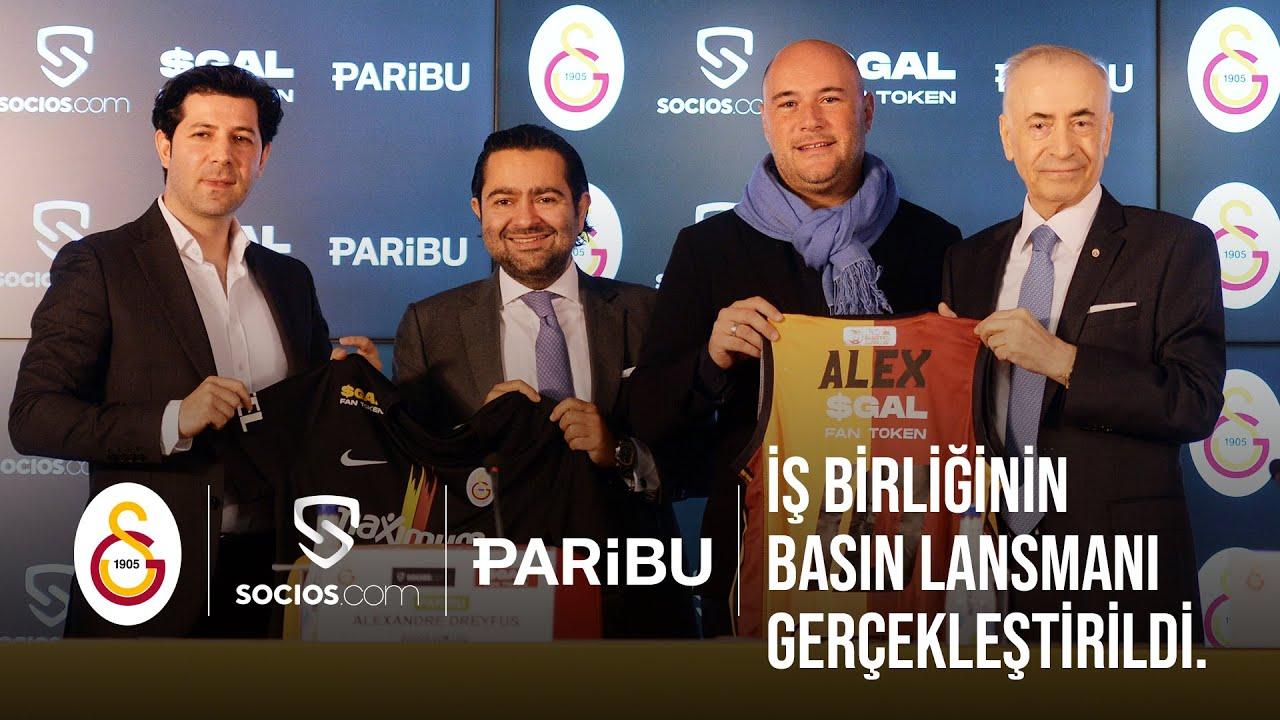 Kulübümüz, Socios ve Paribu arasında gerçekleştirilen iş birliğinin basın lansmanı gerçekleştirildi.