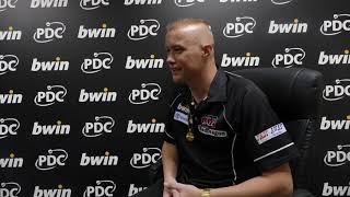 Wesley Harms believes the BDO players have had it tough at the Grand Slam of Darts