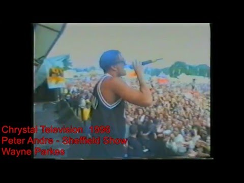 peter andre 1996 sheffield show
