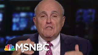 Joe On Inspector General Report: Rudy Giuliani Knows Better | Morning Joe | MSNBC