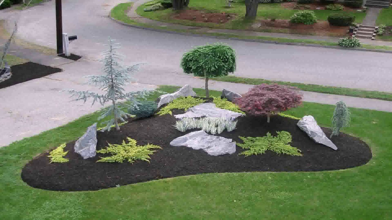 landscape ideas with big rocks