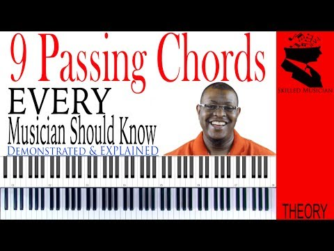 9 Passing Chords EVERY Musician Should Know!!!
