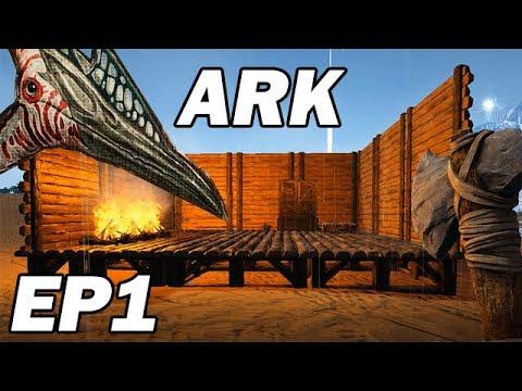 ARK Survival Evolved: La Nouvelle Aventure Solo PvM ! #1