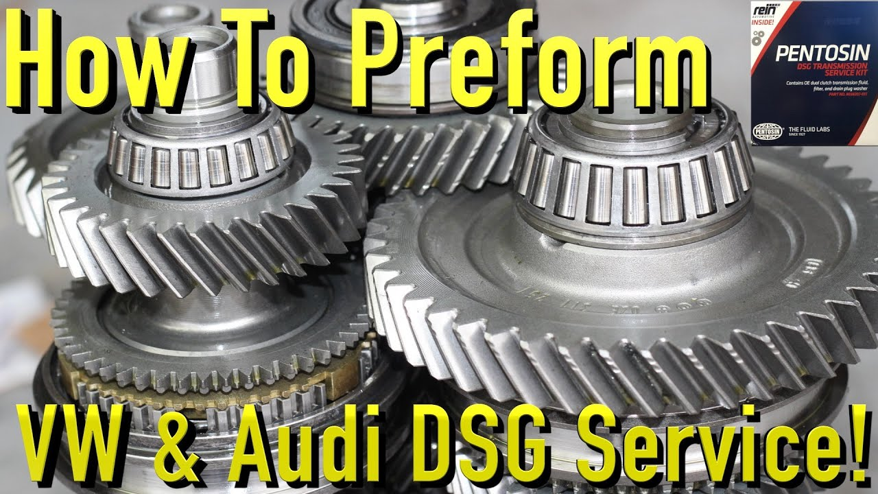 How To Perform DSG Service for VW Audi