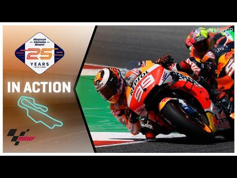 Honda in action: Gran Premio d'Italia Oakley